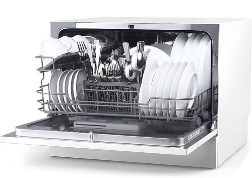 #1 hOmeLabs Compact Countertop Dishwasher