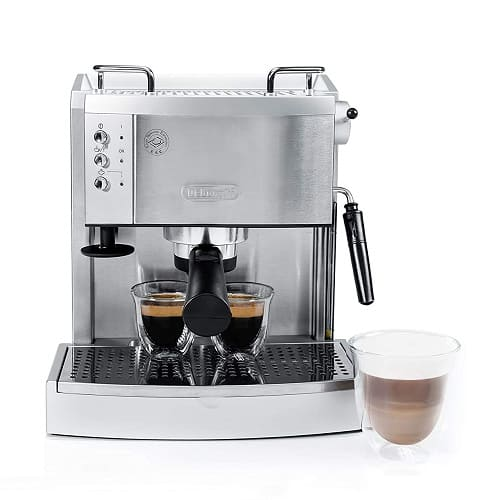 DeLonghi EC702 Stainless Steel Espresso Maker