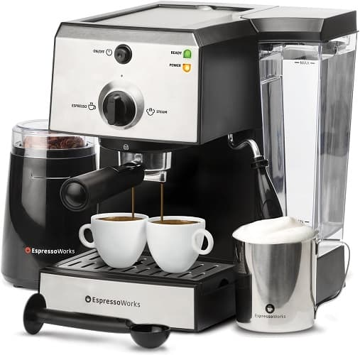EspressoWorks 7 PC All-in-One Coffee Maker