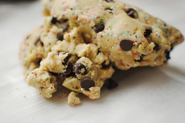 How to fix crumbly cookie dough