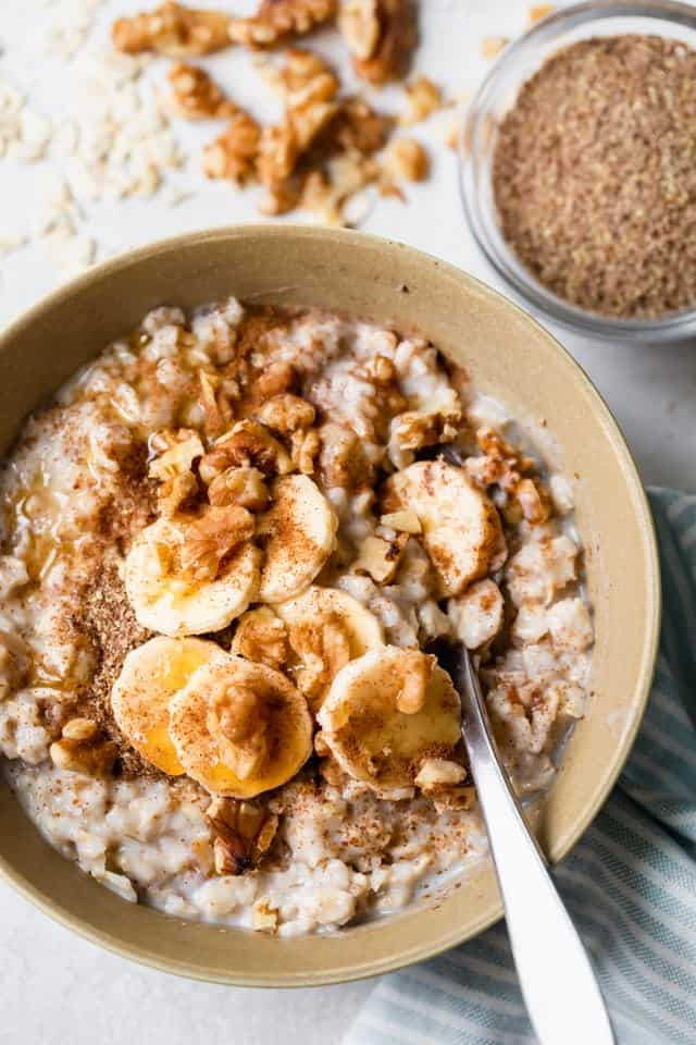 Oat with milk recipes 4