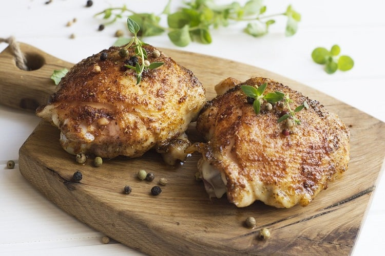 Simple recipes for baked chicken