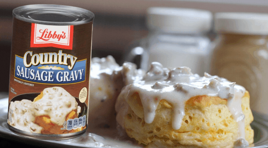 canned sausage gravy