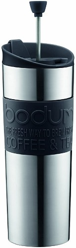 Bodum Stainless Steel Travel Coffee and Tea Press