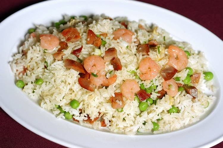 how to pre-heat fried rice