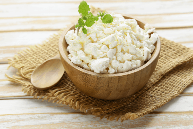 carbs on a cottage cheese