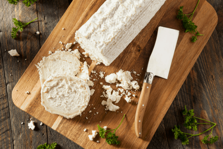 how to make easy homemade goat cheese