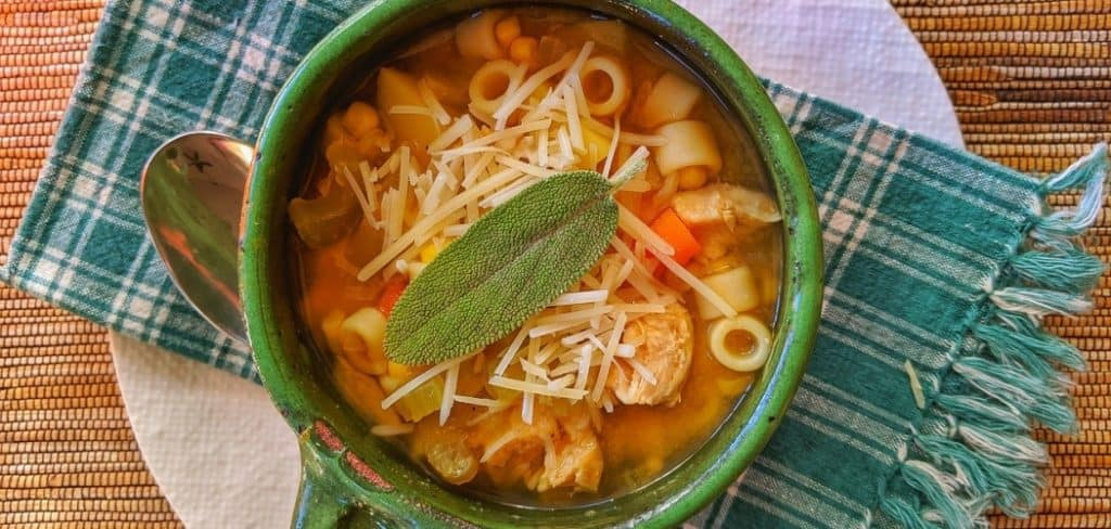 Spice Up Chicken Noodle Soup