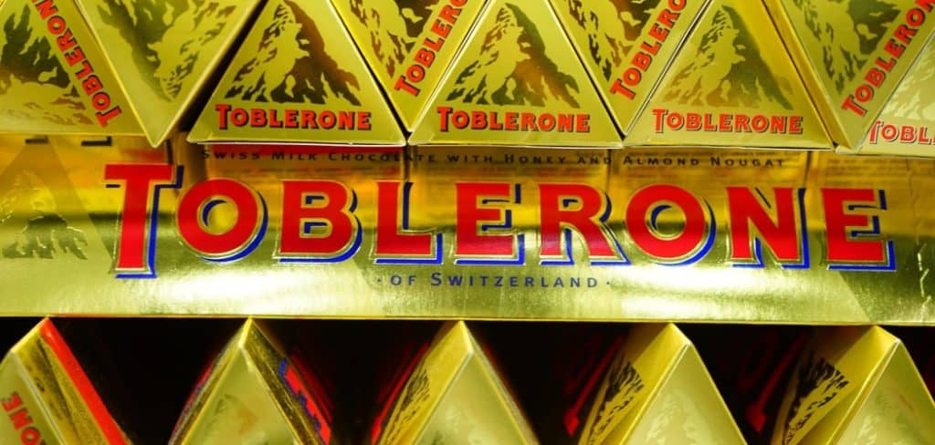 how to eat toblerone